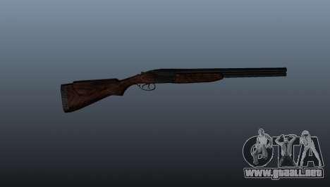 Escopeta doble-barreled ТОЗ-34 para GTA 4 tercera pantalla