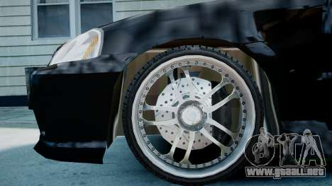Honda Civic FnF para GTA 4 visión correcta