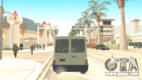 Fiat Fiorino Fire 07 para GTA San Andreas left