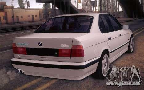 BMW E34 Alpina para GTA San Andreas left