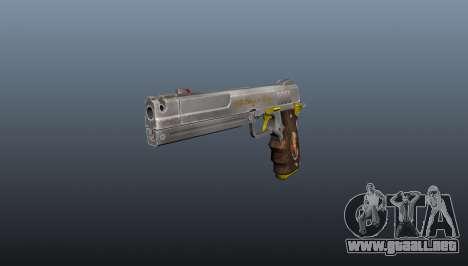 Pistola de Marfil para GTA 4