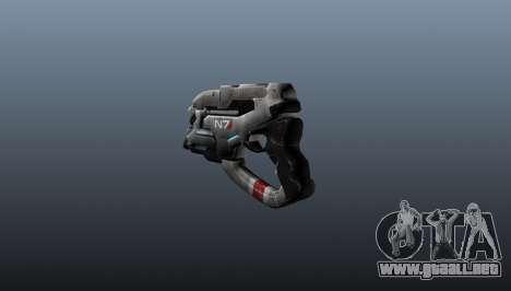 N7 Pistola Eagle para GTA 4 segundos de pantalla