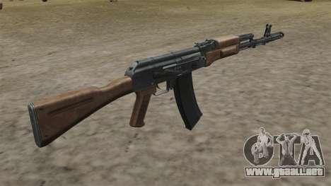 Culata de AK-74 para GTA 4 segundos de pantalla