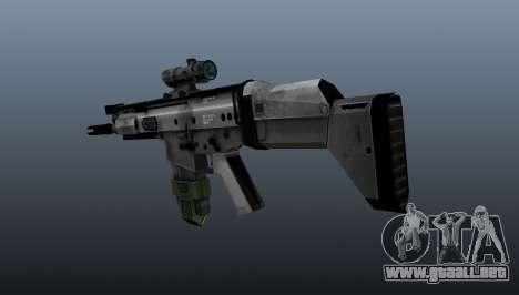 Fusil automático FN SCAR-H para GTA 4 segundos de pantalla