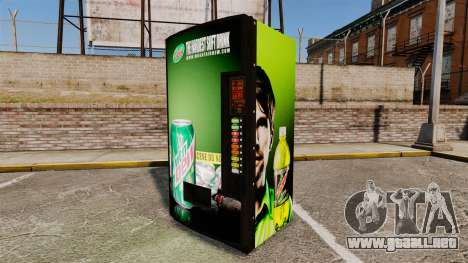 Nuevas máquinas expendedoras para GTA 4