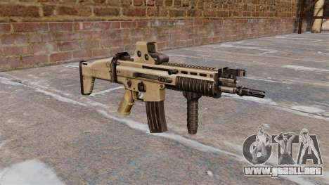 Rifles de asalto FN SCAR-L para GTA 4