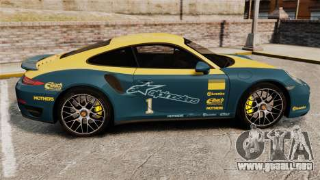 Porsche 911 Turbo 2014 [EPM] Alpinestars para GTA 4 left