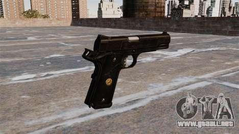 M1911A1 pistola para GTA 4 segundos de pantalla