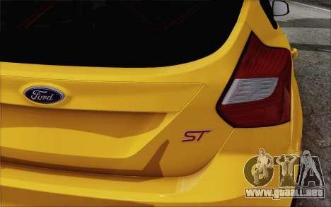 Ford Focus ST para la visión correcta GTA San Andreas