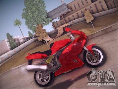 Ducati Supersport 1000 DS para GTA San Andreas left