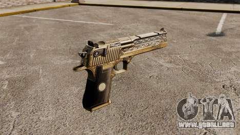 Pistola de lujo Desert Eagle para GTA 4 segundos de pantalla