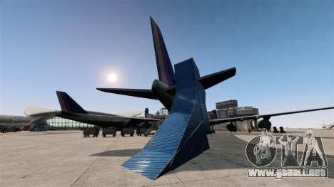 Stunt Park para GTA 4 adelante de pantalla