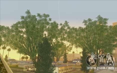 Behind Space Of Realities - Cursed Memories para GTA San Andreas segunda pantalla