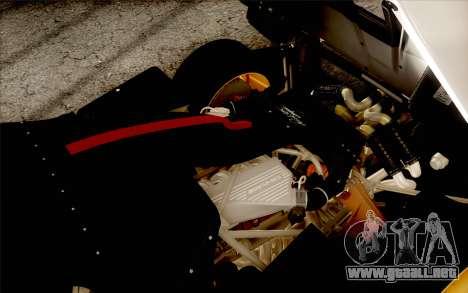Pagani Zonda Cinque para las ruedas de GTA San Andreas