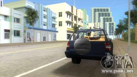 Opel Frontera para GTA Vice City vista lateral izquierdo
