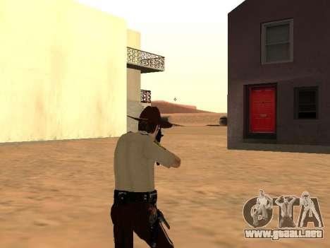 Rick Grimes para GTA San Andreas quinta pantalla