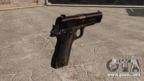 V1 pistola Colt M1911 para GTA 4 segundos de pantalla