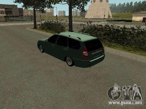 VAZ-2171 para GTA San Andreas left