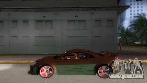 Mitsubishi Eclipse GT 2001 para GTA Vice City vista posterior