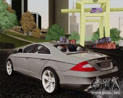 Mercedes-Benz CLS500 para GTA San Andreas left