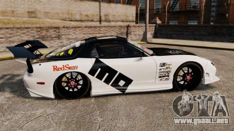 Mazda RX-7 para GTA 4 left