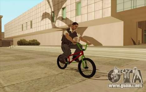 BMX para el motor de GTA San Andreas