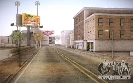 No traffic para GTA San Andreas segunda pantalla