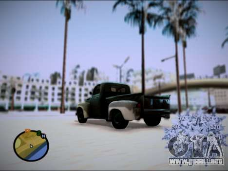 Ford Frieghter 1949 para GTA San Andreas left
