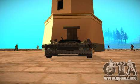 Cheetah Zomby Apocalypse para la visión correcta GTA San Andreas