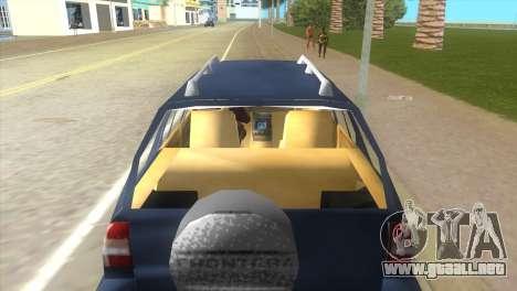 Opel Frontera para GTA Vice City visión correcta