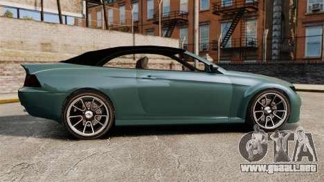 GTA V Zion XS Cabrio para GTA 4 left