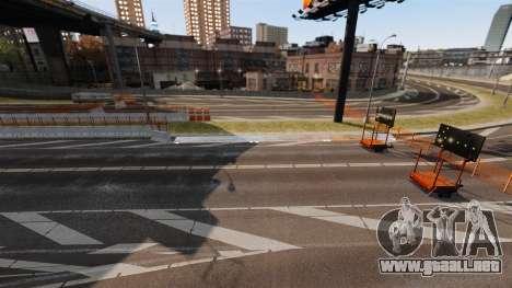 Street Race Track para GTA 4 adelante de pantalla