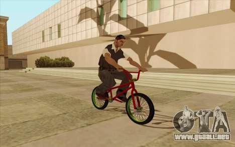 BMX para visión interna GTA San Andreas