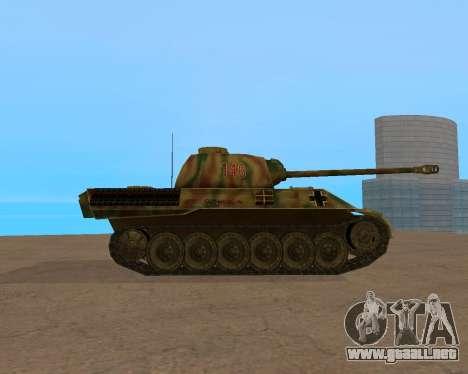 pz.kpfw v Panther para la visión correcta GTA San Andreas