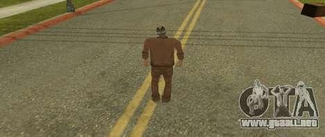 Kelly de piel de GTA Vice City Beta para GTA San Andreas segunda pantalla