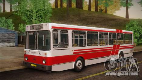 LIAZ 5256.00 piel Pack 2 para GTA San Andreas left
