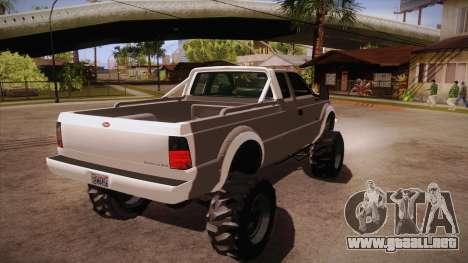 Sandking SWB de GTA 5 para la visión correcta GTA San Andreas