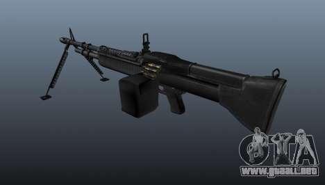 Ametralladora M60 de propósito general para GTA 4 segundos de pantalla