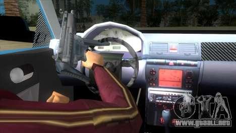 Seat Ibiza GT para GTA Vice City vista lateral izquierdo