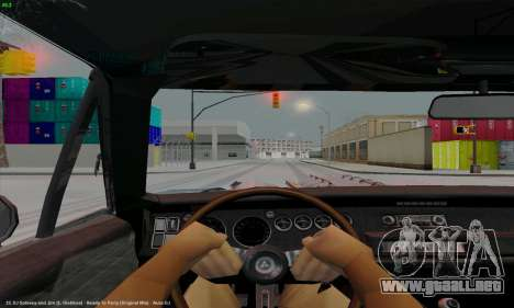 Dodge Charger 1969 Big Muscle para GTA San Andreas vista hacia atrás