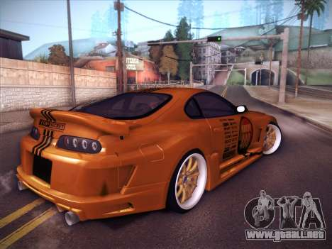 Toyota Supra Top Secret V12 para GTA San Andreas left