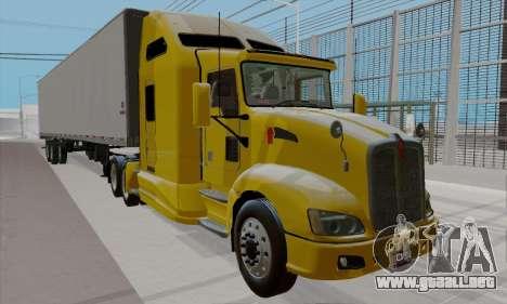 Kenworth T660 2011 para la visión correcta GTA San Andreas