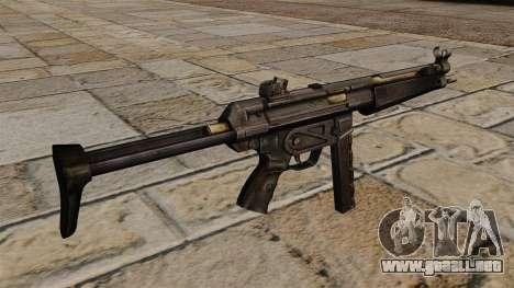 Subfusil MP5 para GTA 4 segundos de pantalla