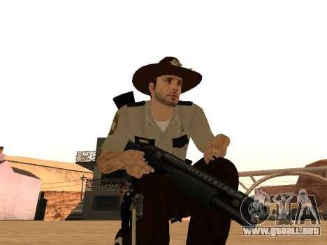 Rick Grimes para GTA San Andreas sexta pantalla