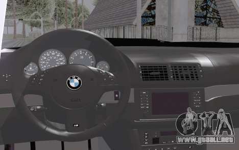 BMW M5 Street para la visión correcta GTA San Andreas