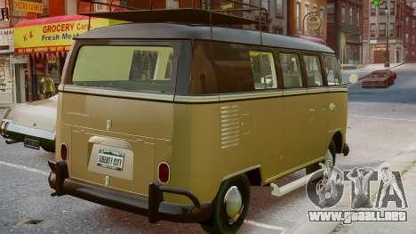 Volkswagen Transporter 1962 para GTA 4 left