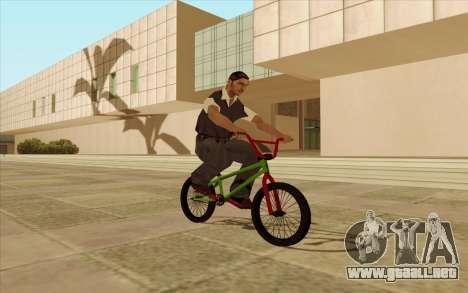 BMX para las ruedas de GTA San Andreas