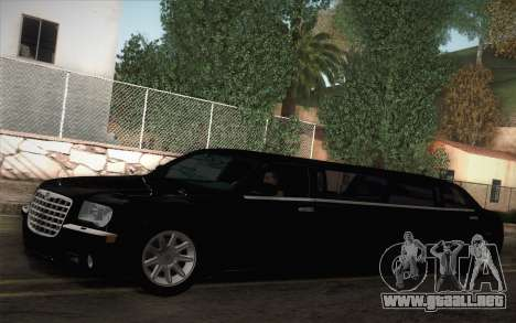 Chrysler 300C Limo 2007 para GTA San Andreas left
