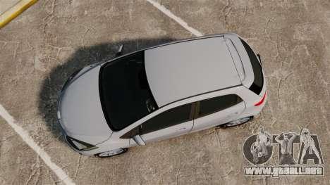 Mazda 2 para GTA 4 visión correcta