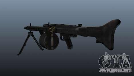 Ametralladora de propósito general MG-3 para GTA 4 segundos de pantalla